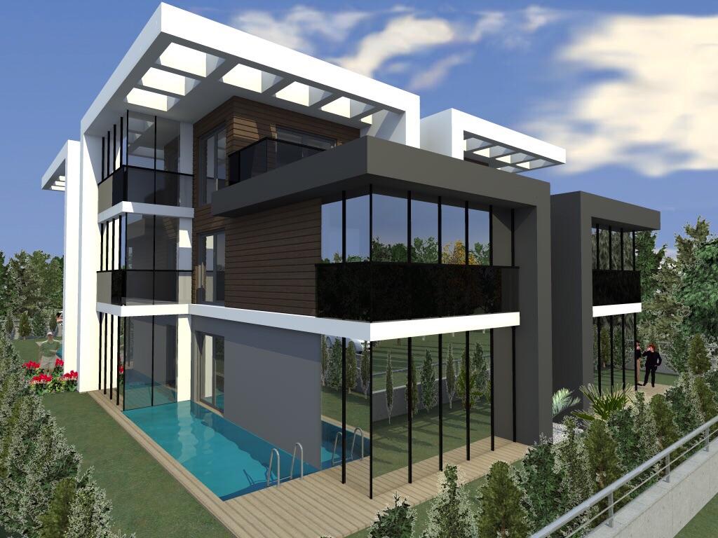 Modern Luxury 5 Bedroom Villa near Bahcesehir Istanbul